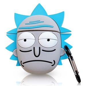 Rick and Morty AirPods Case Cover New Rick Sanchez